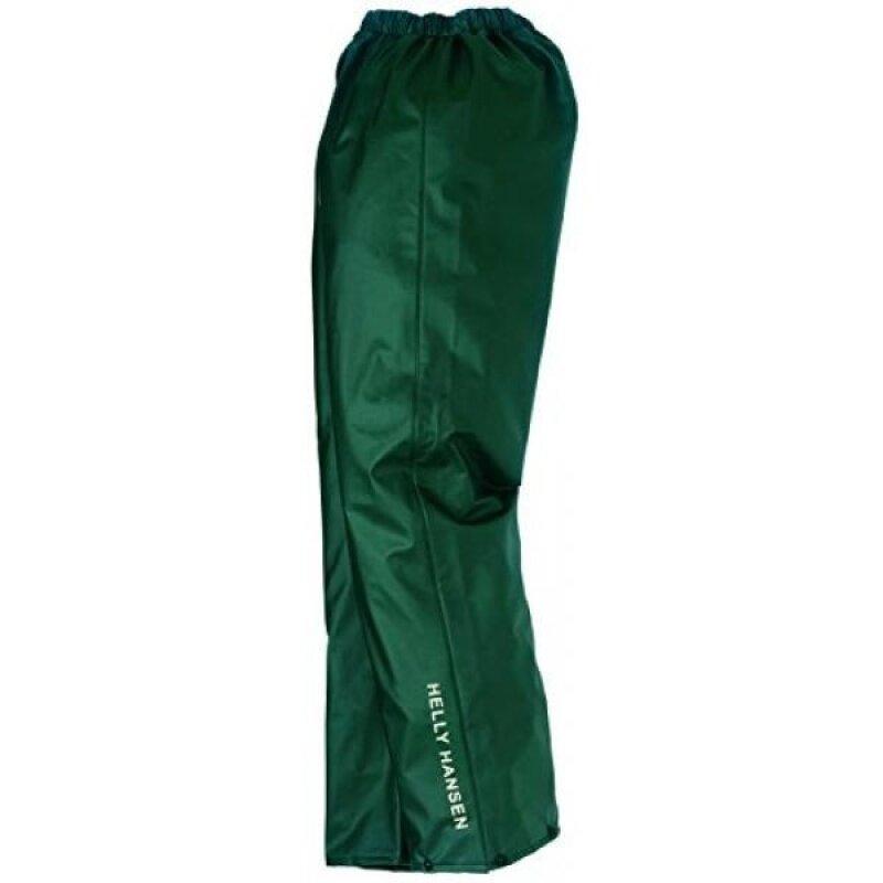 70480_490-L Rain Pants Voss Waterproof Size In L, Dark Green