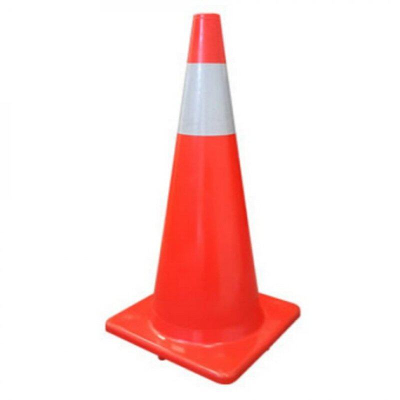 Buy 77cm Road Safety Cone Traffic Cone Multipurpose 30 Big (RED) Malaysia