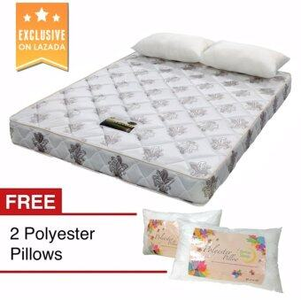 "Harga 8"" BetterSleep Economy Mattress Queen size with 2 FREE PolyesterPillow"
