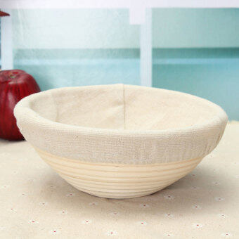"9"" Round Brotform Banneton Proofing Proving Bread BasketFreep&Amp;P New"