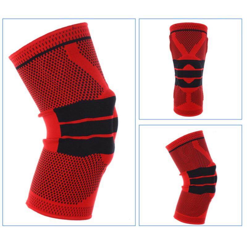 Buy A Piece of Silicone Knee Pads Sports Knee Support Brace Protection Pads for Cycling Running Soccer Red S Size Malaysia