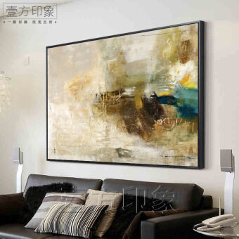 Abstract Decorative Painting American Retro Living Room Large Sizepaintings  Company Hotel Clubs Art Painting Abstract Oil Part 73