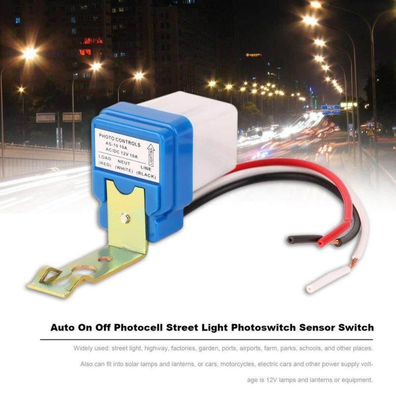 Buy AC DC 12V 10A Auto On Off Photocell Street Light Photoswitch Sensor Switch Malaysia