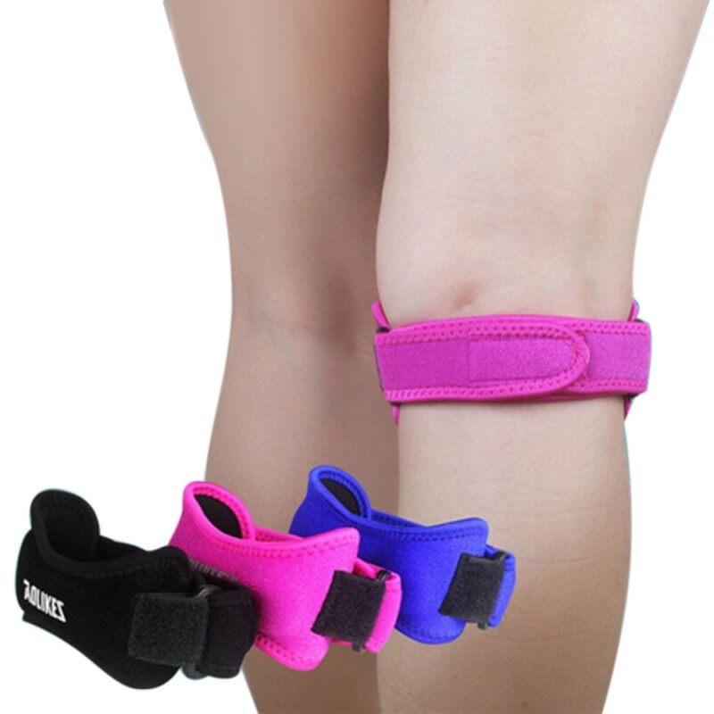 Adjustable Knee Guard Support Knees Pads Patella Protector Belt Sports Knee Brace Strap Band Leg Support Brace Guard Pad