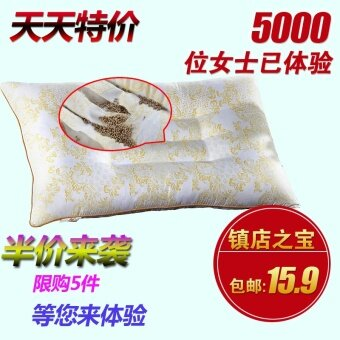 Harga Adult Single student cervical care health magnetic health care neck to help sleep pillow zhentou