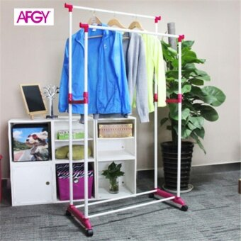 Harga AFGY FGR 112 (PINK) Flexi Double Pole Garment Rack
