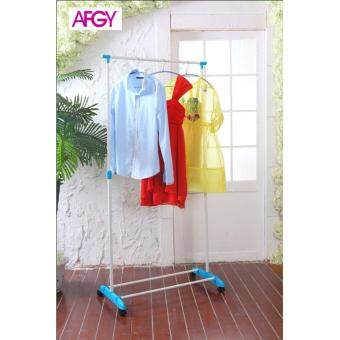 Harga AFGY FGR 113 (BLUE) Flexi Single Pole Garment Rack