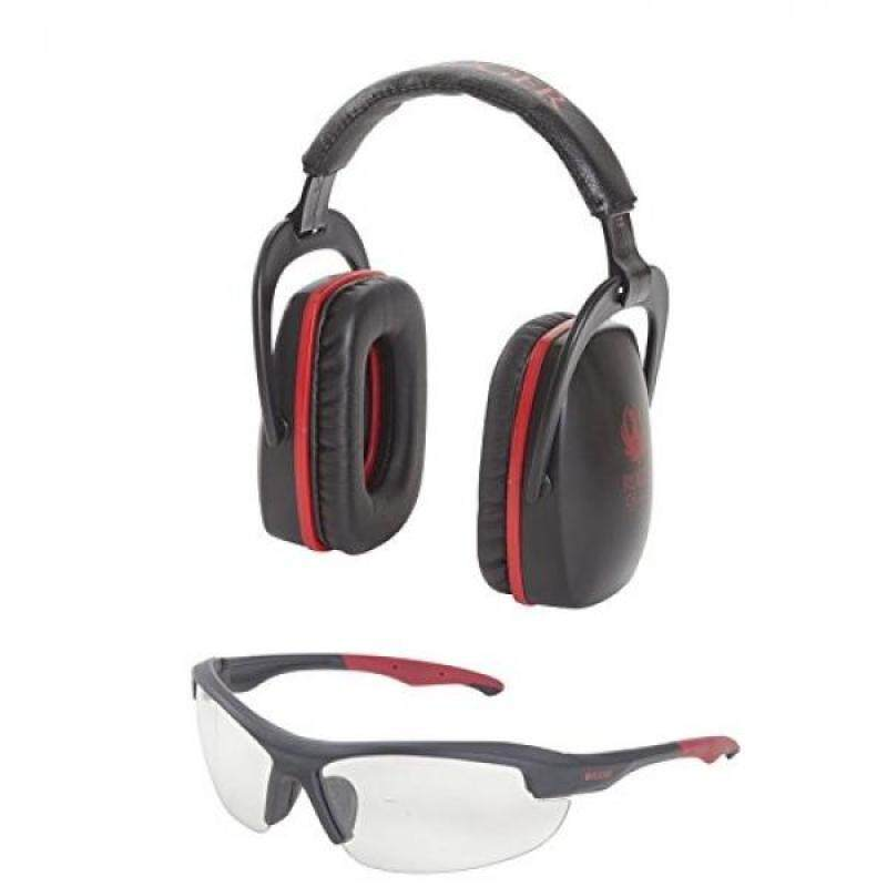 Buy Allen Company 27865 Ruger Conix Ballistic Muff & Glasses Combo, Black/Red Malaysia