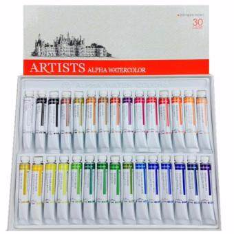Harga Alpha Artists Watercolour (30 Colours Set)