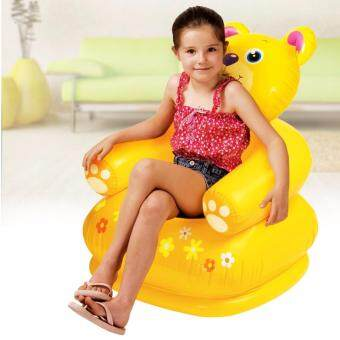 Harga Alpha Living Children's Fun Inflatable Sofa Safety Seat (Yellow)