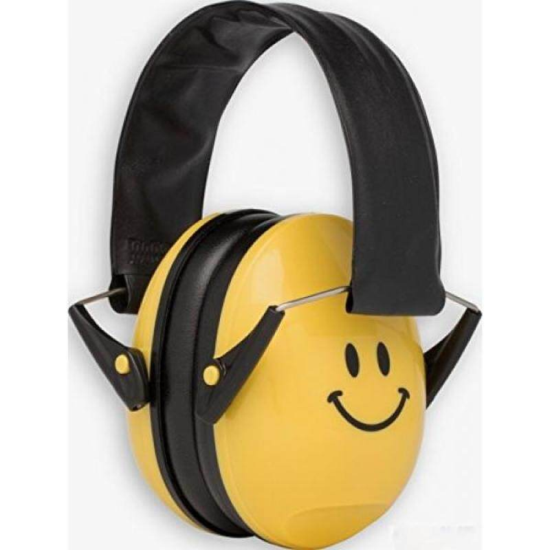 Buy Alpine Muffy Smile Ear Muffs, Ear Protectors for Kids, Yellow Smiley Face Malaysia