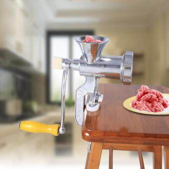 Aluminium Manual Meat Grinder Hand Operate Sausage Beef Mincer Kitchen Tool