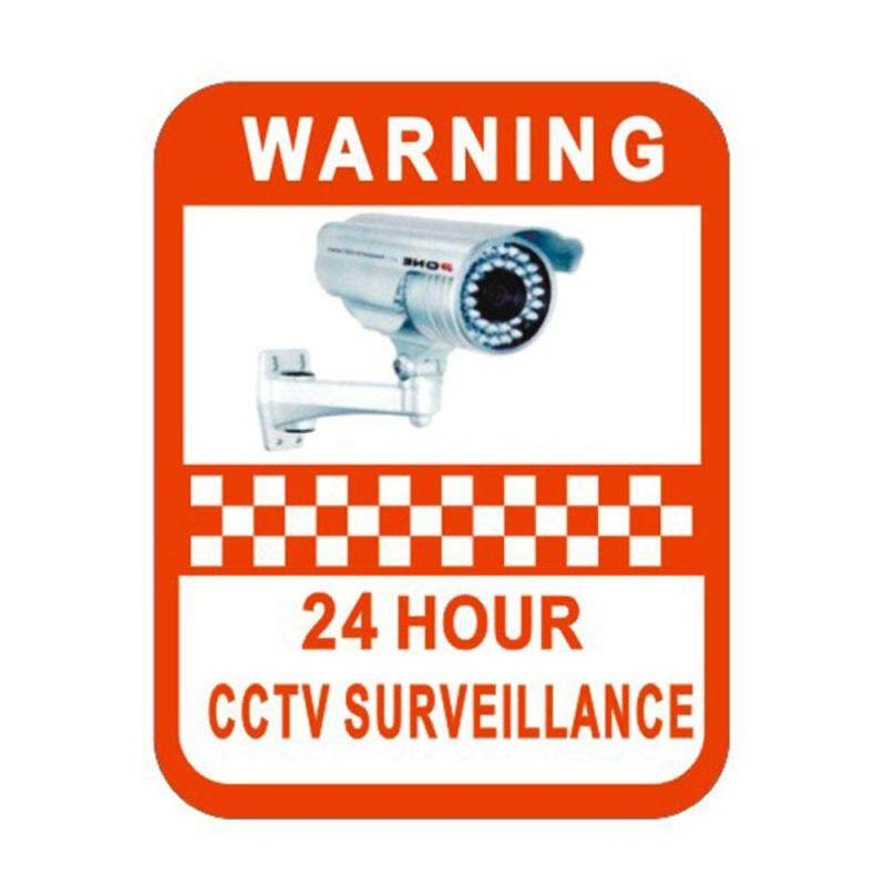 Buy Angel-Home CCTV Monitoring Warning Sign Sticker Decal Surveillance Security Alarm Malaysia