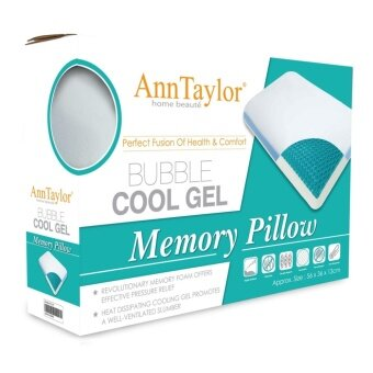 Harga Ann Taylor Bubble Cool Gel Memory Pillow