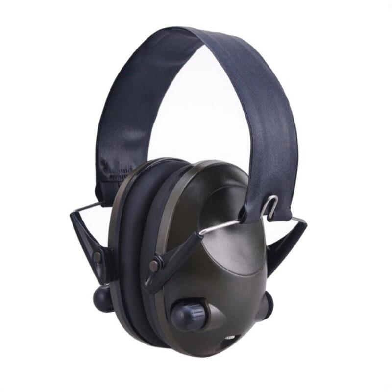 Buy Anti-noise IPSC Impact Sport Hunting Electronic Tactical Earmuff Shooting Ear Protectors Hearing Protection Earmuffs– Black Malaysia