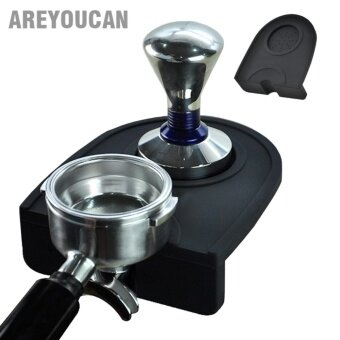 Harga Areyoucan AYC3102 High Quality Espresso Coffee tamper mat Siliconrubber corner mat(no coffee stamper) Slip-Resistant Pad Tool