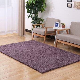 Avant Fluffy Rugs Anti-Skid Shaggy Area Rug Dining Carpet Floor MatGrey