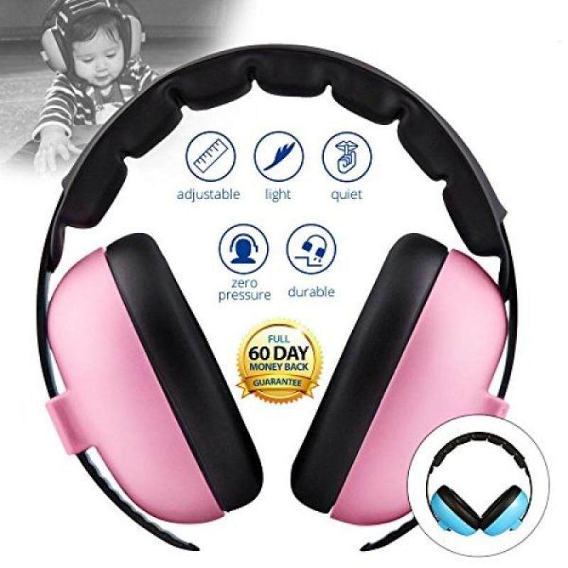 Baby Noise Cancelling HeadPhones, Baby Earmuffs, Baby Headphones, Baby Ear Protection, Baby headphones noise reduction, Pink