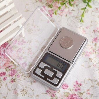 Harga Balance digital scale scale jewelry Diomand New 500g 0.1g ScaleElectronic Mini Digital Pocket Weight Jewelry Platform steel