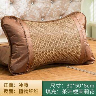 Bamboo pillow whole mat pillow whole sets sweat on the pillow