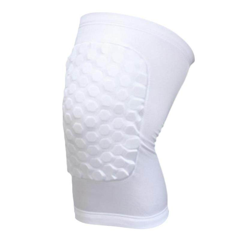 Buy Basketball Leg Knee Sleeve Breathable Football Knee Pads Sport Safety Honeycomb Kneepads Bumper Knee Protector Size L Malaysia