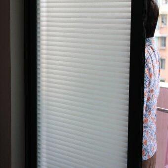 How To Buy Bathroom Glass Film Blinds Sliding Door Stickers ...