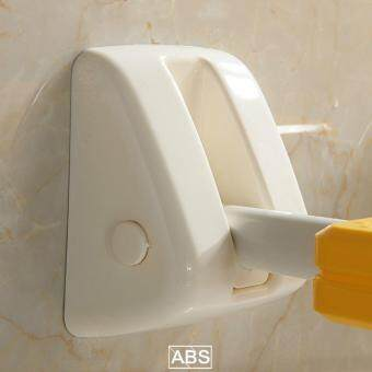 Bathroom Shower Bench Shower Folding Chair Bathroom Non-slip BathWall Chair Elderly and Pregnant Women Safe Change Shoes Wall Stool32*34CM