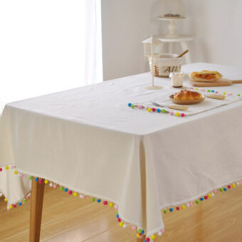 Harga Bed and breakfast home bar tassel Linen coffee tablecloth