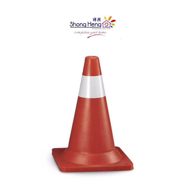 """Black/Red Base 30"""" Safety Cone - Red"""