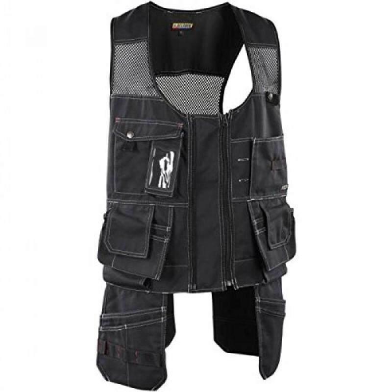 Blaklader 310013809900XXL Vest Craftman Size In XXL, Black