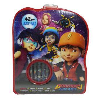 Harga BOBOIBOY GALAXY 42PCS ART SET