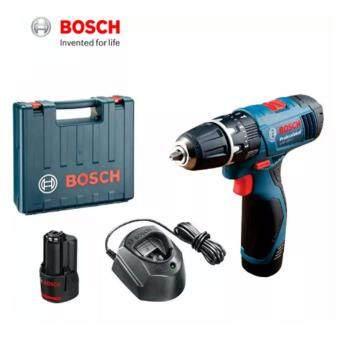 Bosch GSB 120-Li Cordless Impact Drill Set (Blue) +1.5Ah Li-ionBattery + 100pcs accessories Set