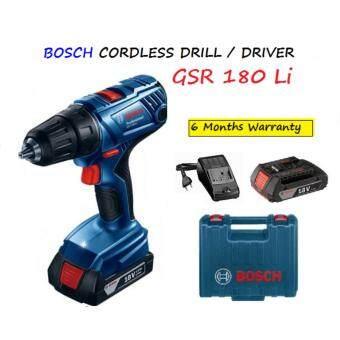 BOSCH GSR180-LI 18V CORDLESS DRILL / DRIVER