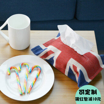 Marvelous British Style M Word Flag Living Room Napkin Box Sets Tissue Box Models And  Prices Malaysia October 2017 Part 32