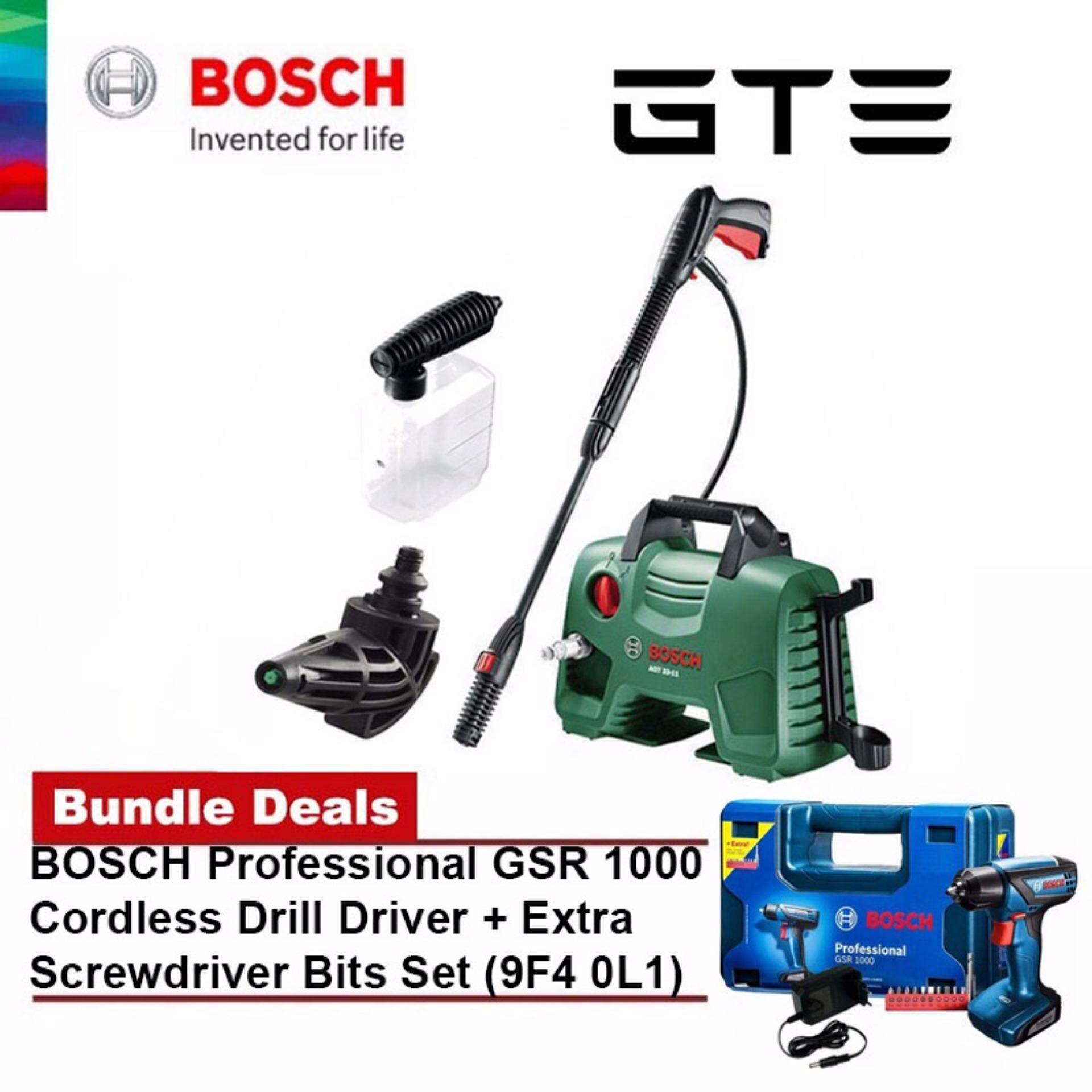 Buy Bundle Deal Bosch Aqt 33 11 Aquatak High Pressure Cleaner Washer Aqt33 1300w Professional Gsr