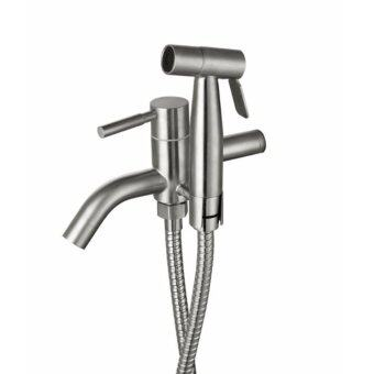 CABANA 304 Stailless Steel 2-Way Tap With 304 Stainless Steel Bidet CB78SS
