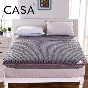 casa 4d all season flexible japanese tatami style queen mattress topper only thick 9 cm