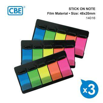 Harga CBE 14016 FILM MATERIAL Z TYPE COLOR STICK ON NOTE 3'S