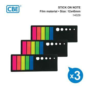 Harga CBE 14029 FILM MATERIAL STICK ON NOTE (STRAIGHT STRIP) 3'S