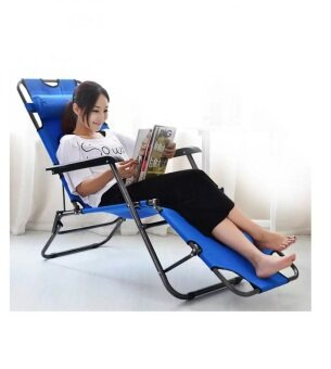 Harga Chaise Lounge Lazy Chair - Blue