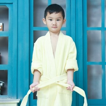 Harga Children's 231a89bf cotton bathrobe Terry bathrobe