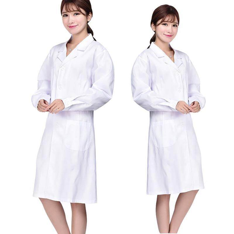 Buy Cocotina Lab Laboratory Warehouse Doctor Work Wear Coat Medical Technician Food Hygiene Women Size S Malaysia