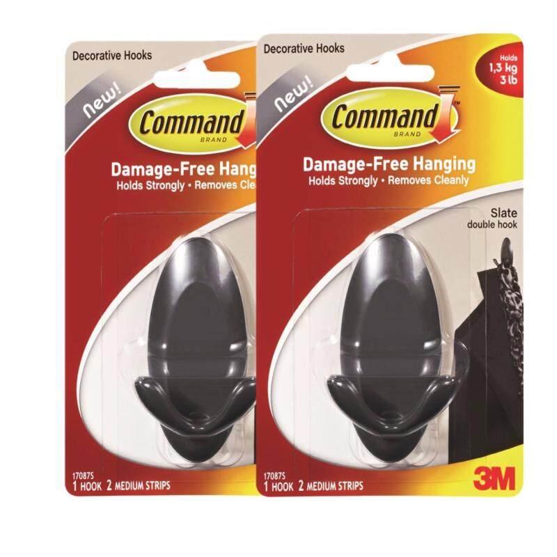 Buy Command Slate Double Hook (Buy 2 @ RM 10.49) Malaysia
