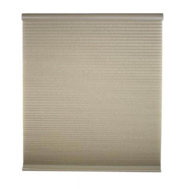 Cordless Light Filter Cellular Shade, Linen, 23W x 64L