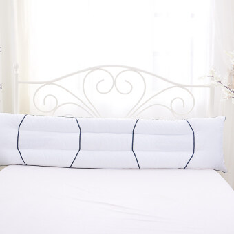 Cotton long Zhen Xin couple double pillow 1.2/1.5/1.8m M bed longhotel wedding pillow adult pillow