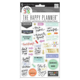 Harga Create 365 Happy Planner Stickers - Fitness Stickers