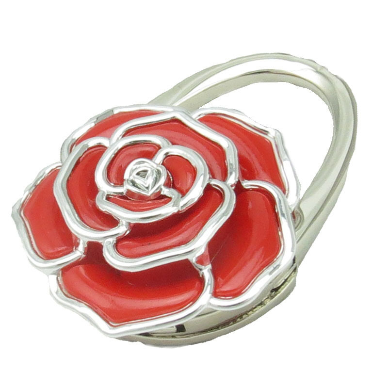Buy Creative bag Hook rose flower bag jewelry birthday gift Valentines gift bag accessories bag hook Malaysia
