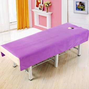 Crystal velvet beauty salon beauty bed with quilt beauty sheets
