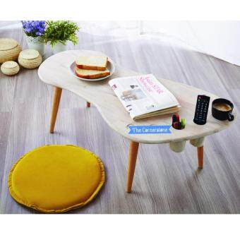 Harga CSL NATURAL SOLID WOOD FOOTPRINT COFFEE TABLE
