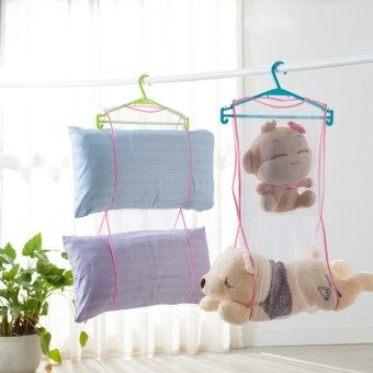 Harga Cushion to Dry Bag sun drying hanger pillow drying nets